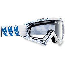 Thor MX/ATV S12 Enemy Diamond Goggle Adult White Blue