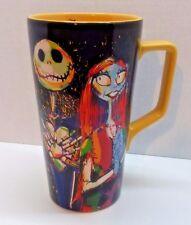 Disney Store Nightmare Before Christmas Jack Skellington Sally Coffee Cup Mug
