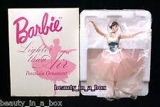 Lighter Than Air Ballerina Barbie Porcelain ORNAMENT Ballet Based on Doll Used