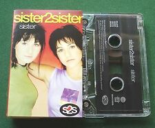 Sister2Sister Sister (2 Versions) Cassette Tape Single - TESTED