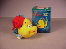1989 McDonald's Little Mermaid Flounder Christmas ornament MIB Disney Movie toy
