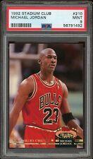 1992-93 Topps Stadium Club Michael Jordan #210 PSA 9 New Slab!