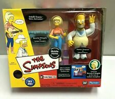 MOBILE HOME SIMPSONS PLAYSET Homer & Lurleen Playmates NEW figurines made 2002