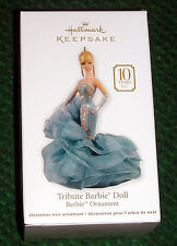 2011 Hallmark TRIBUTE BARBIE 10th Anniversary FASHION MODEL Ornament