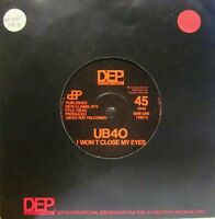 "UB40(7"" Vinyl)I Won't Close My Eyes-DEP International-7 DEP 3-UK-VG+/VG"
