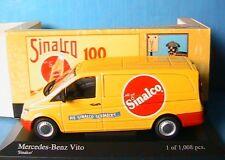 MERCEDES BENZ VITO TOLE 109 dci KASTENWAGEN SINALCO MINICHAMPS 400032261 1/43