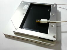 Macbook Pro Unibody 2. HDD SSD 2nd HDD Adapter Kit Caddy +External Enclosure