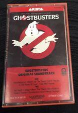 Vintage Ghostbusters Original Soundtrack Cassette Music Tape