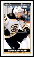 2020-21 O-Pee-Chee OPC Mini Tallboys #P-21 Brad Marchand - Boston Bruins