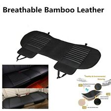 1x Breathable Bamboo Charcoal Rear Back Seat Car Cover Mat Cushion 138*49cm
