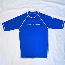 Body Glove Rash Guard Wetsuit Surfing Uvp Blue Shirt Mens Nylon Spandex Medium