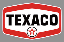 "Texaco Oil Gas Station 6"" Alternate Logo Vinyl Sticker - Race Car Truck Vintage"