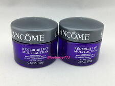Lot of 2: Lancome Renergie Lift Multi-action Day Cream 15g* 2= 30g / 1 oz Total