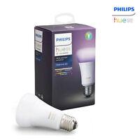 PHILIPS Hue 3.0 White and color ambiance Single Blub E26 Smart LED Lighting