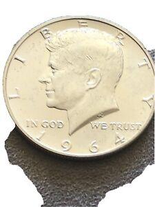 A Beautiful 1964 Kennedy Silver Half Dollar