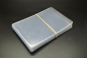 50 Ct of Card Sleeves for PSA card submissions Semi Rigid Holders BRAND NEW