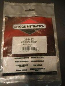 New OEM Briggs and Stratton Genuine Service Part - Fuel Pump Kit 394462