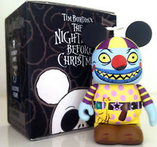 """DISNEY VINYLMATION 3"""" NIGHTMARE BEFORE CHRISTMAS 2 CLOWN w/TEAR AWAY FACE CHASER"""