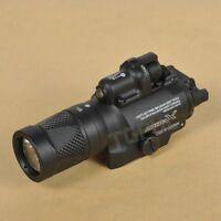SF X400V LED Flashlight White Light Strobe Red Laser 5 Mode fit Picatinny Mount