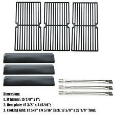 Replacement Pro Series 8300,810-8300W Gas Grill 3Burner,Heat Plate,Cooking Grids