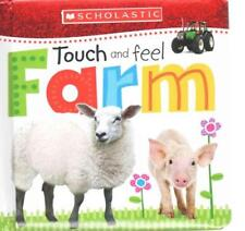 TOUCH AND FEEL FARM - SCHOLASTIC INC. (COR) - NEW BOOK