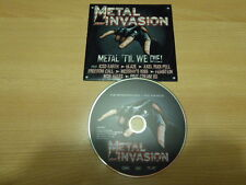 Various - Metal Invasion ( Iced Earth , blaze , Axel Rudi Pell , mob Rules ,...)