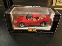 Maisto 1996 Ferrari 550 Maranello - 1:24 Scale - Special Edition-Die Cast