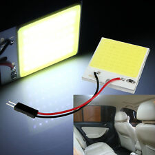 High Quality 48 SMD COB LED T10 4W 12V White Light Car Interior Panel Light Dome