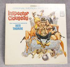 """VINTAGE 1968 INSPECTOR CLOUSEAU SOUNDTRACK KEN THORNE 33 RPM 12"""" VINYL RECORD"""
