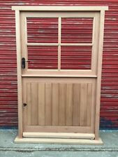 Wooden Hardwood Cottage Style Stable Door Made to measure! Bespoke!