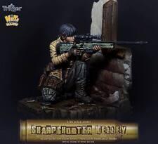Nutsplanet Sharpshooter Kelly Trigger series Unpainted Fantasy 75mm resin kit