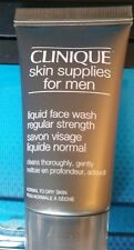 CLINIQUE for MEN Liquid Face Wash Regular Strength Normal to Dry Skin 1oz NEW