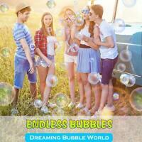 6pcs/Set Bubble Wand Tool Kids Toy Outdoor Bubble Maker Educational Toys