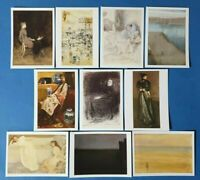 Set of 10 Brand New Art Postcards, The James McNeill Whistler Collection