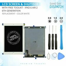 LCD TOUCH SCREEN REPLACEMENT FOR iPAD 6 6th GEN AIR 2 DISPLAY & DIGITISER WHITE