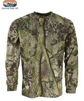 ENGLISH CAMO HEDGEROW CAMOUFLAGE LONG SLEEVED HUNTING T-SHIRT TOP SIZE 2XL