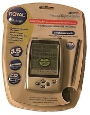 Royal Extreme 4 PDA Personal Digital Assistant Microsoft Outlook Express Synch