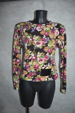 PULL KRISTINA POPOVITCH TAILLE S/36 TOP SUETER/SWEATER/MAGLIONE BE LAINE SEQUIN
