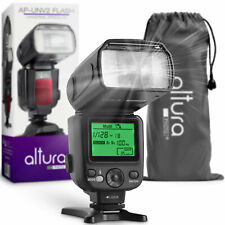 Altura Photo Ap-Unv2 Camera Flash Speedlite w/ Lcd Display for Dslr & Mirrorless