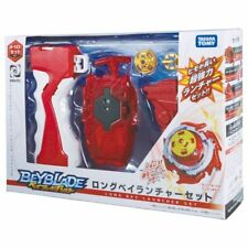 New Takara Tomy Beyblade BURST B-123 Long Bey Launcher Set