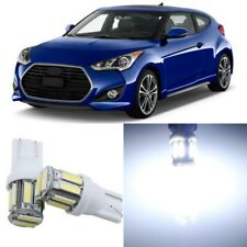 10 x Super Bright Interior LED Lights Package For 2012 - 2017 Hyundai Veloster