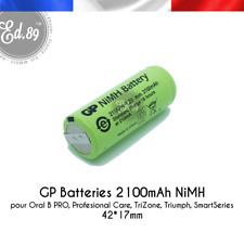 Batterie GP Batteries 2100mAh Oral B Professional Care Triumph 3731 3738 3745