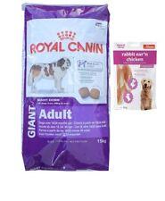 15kg Royal Canin Giant Adult  + 80g Fleischsnacks
