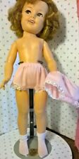 "2 Pairs New Pink Cotton Panties fit 17"" Vintage Dolls Shirley Temple, Toni, Sue"