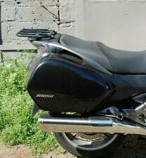 HONDA NT 700 V NT700 REAR RACK BLACK MOTORCYCLE ACCESSORIES BIKE BIKER GIFT
