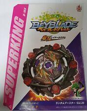 Beyblade Burst Superking B-164 Curse Satan 1D Un Right Launcher Flame Brand UK