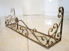 Wrought Iron French Style Wall Flower Pot Plant Holder Rack Window Box BRS001XL