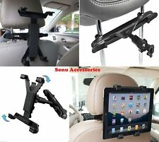 Universal In Car Headrest Back Seat Mount Holder for iPad 1 2 3 4 Air Pro Tablet