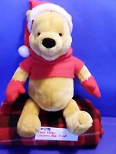 Gund Disney Christmas Pooh plush(310-1198)