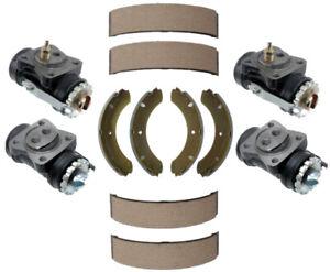 Front & Rear Drum Brake Wheel Cylinders & Shoe kit For Toyota Land Cruiser FJ40